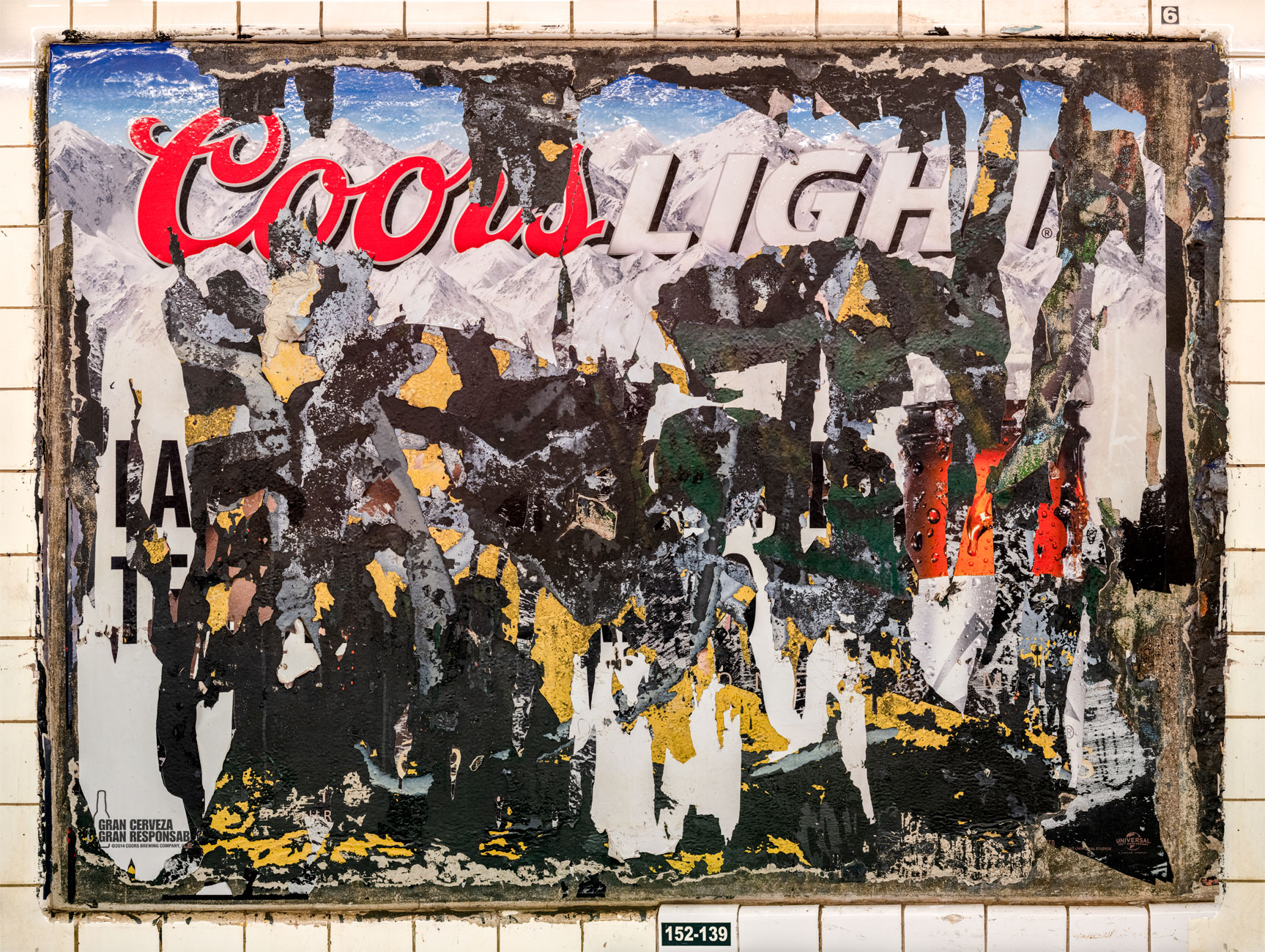 Coors Light, 135th St., IND Eighth Ave. Line